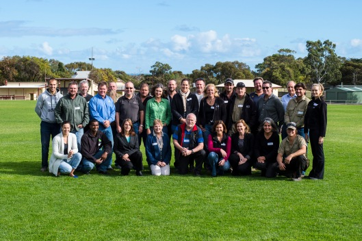2014 Sustainable Wine Growers Course participants and instructors