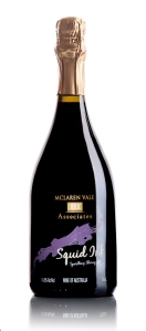 Winning wine: McLaren Vale III Associates Sparkling Squid Ink Shiraz.