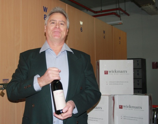 Mark Wickman formed Wickman's Fine Wine Auctions 12 years ago and hosts auctions that sell anywhere between 2000 and 3000 bottles of ultra-premium wine a month.