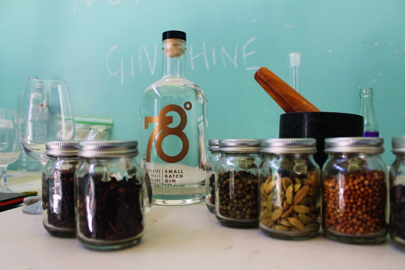 Skills with the still - 78 Degrees gin