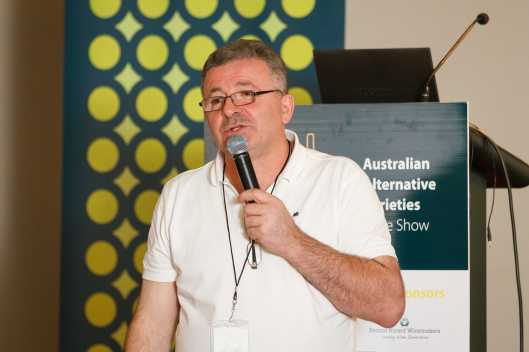 Lado Uzunashvili is prepared to share his Georgian wine knowledge here in Australia.