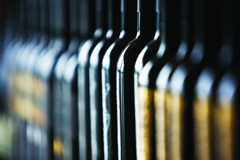 wine-bottles - background for headline page