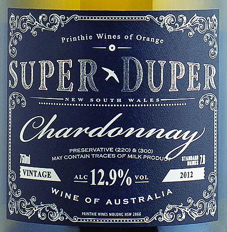 Super Duper Chardonnay